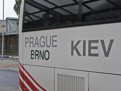 Автобус Прага - Львів