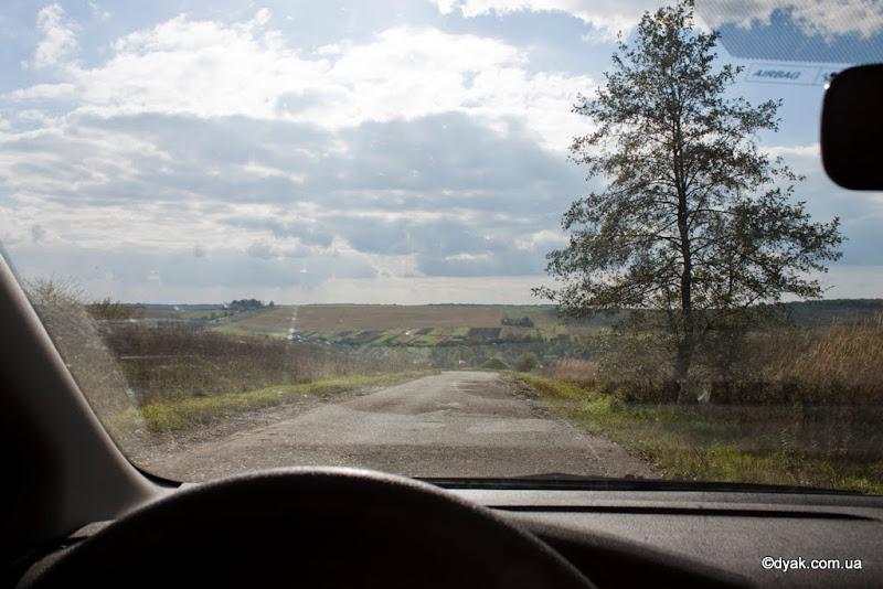 Дорога до старого села
