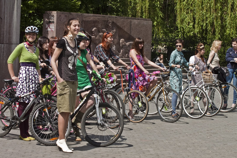 Велопарад дівчат 2011