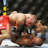 Saturday, January 31, 2009 UFC 94: St-Pierre vs. Penn 2 Georges St-Pierre defeated B.J. Penn via TKO (corner stoppage) after the end of round 4 to retain the UFC Welterweight belt