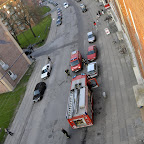 Så er der brand i naboopgangen