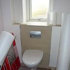 Det væghængte toilet