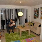 Morten og Silje i stuen