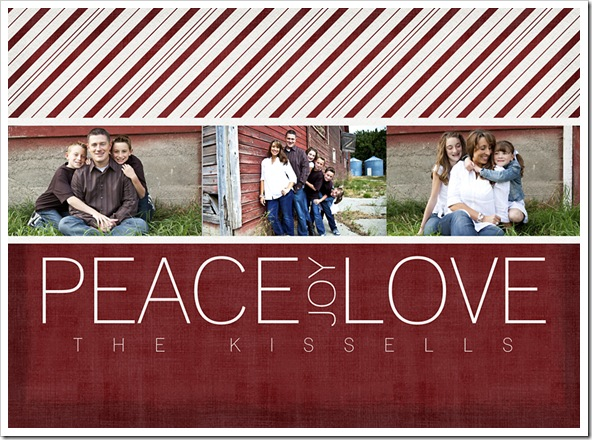 Christmas Card Kissell web