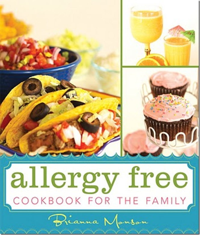 Allergy Free Cookbook Cover