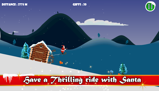 Ski Santa - screenshot