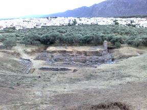 Antiguo teatro de Esparta