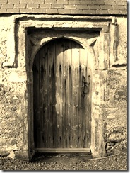 Anglesey, Llantrisant, Old Church - Door and Doorway
