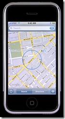 google maps en el iphone