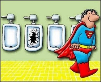 superman orinando