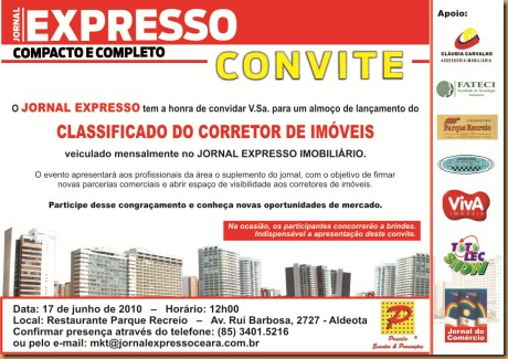 Convite Final Parque Recreio