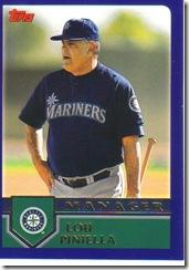 Card 7 Lou Piniella
