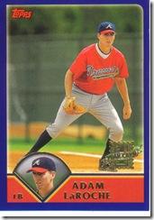Card 13 Adam LaRoche