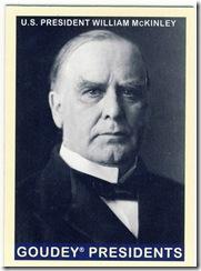 McKinley Goudey Presidents
