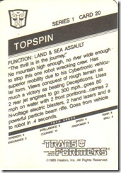 Topspin Back