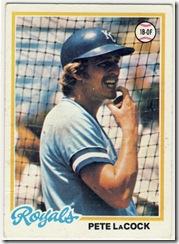 78 Pete LaCock