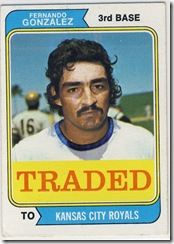 74 Traded Fernando Gonzalez
