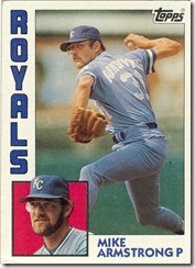 Mike Armstrong Topps 84