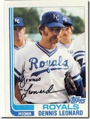 Dennis Leonard Topps 82