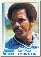 Amos Otis Topps 82