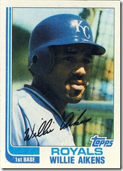 Willie Aikens Topps 82
