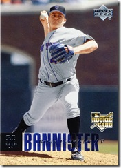 Brian Bannister Upper Deck 06 Rookie