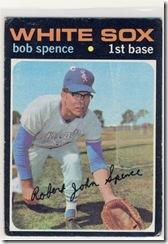 Topps 71 Bob Spence