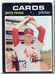 Topps 71 Jerry Reuss