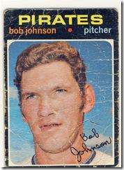 Topps 71 Bob Johnson