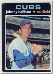 Topps 71 Johnny Callison