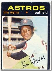 Topps 71 Jim Wynn