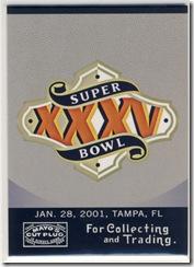 May Super Bowl 35