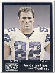 Mayo Tight End Witten