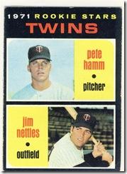1971 74 Twins Rookie