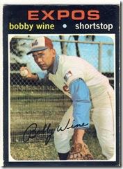 1971 171 Bobby Wine