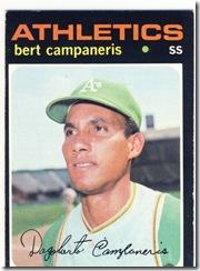 1971 440 Bert Campaneris