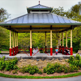 Band stand at beaumont park by Nic Scott - Buildings & Architecture Other Exteriors ( band, band stand )