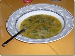 garden pumpkin soup