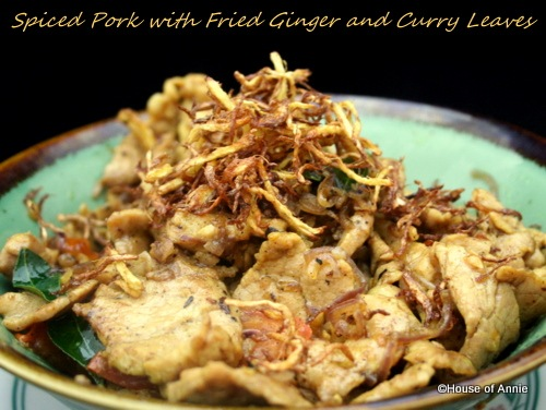 [spiced pork with fried ginger and curry leaves[2].jpg]