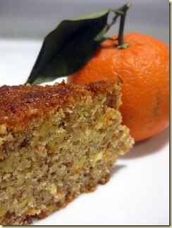 Foodology Citrus Almond cake
