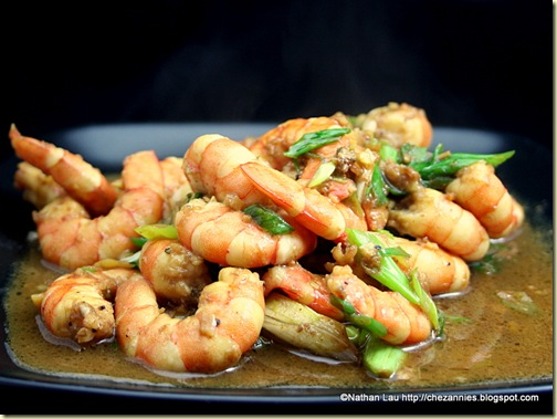 Indonesian-Inspired Sauteed Shrimp