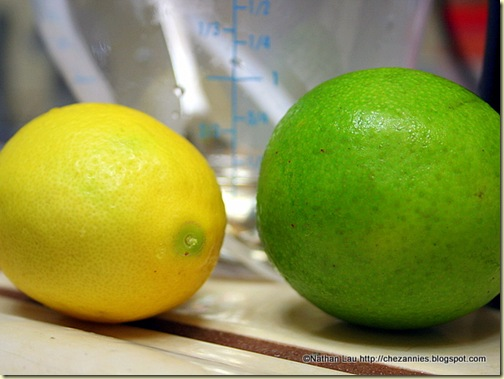 Lemon and Lime for Sweet and Sour