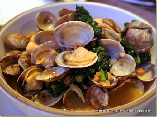 Bowl of Steamer Clams from Hog Island Oysters (San Francisco)