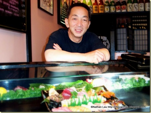 Ryosuke Yoshioka (1950 - 2009), Chef-Owner of Sushi-Man Restaurant in San Francisco