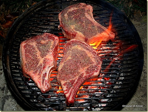 Grilling Ribeye Steaks on the WSM