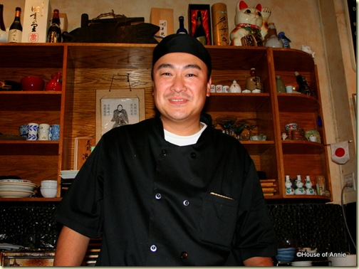 """Seki"" Mori, Sushi Chef at Sakae Sushi in Burlingame"