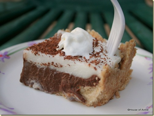 Ultimate Backyard Lu'au: Chocolate Haupia Pie