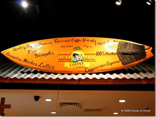 bad ass coffee company surfboard tropicana city kuala lumpur malaysia