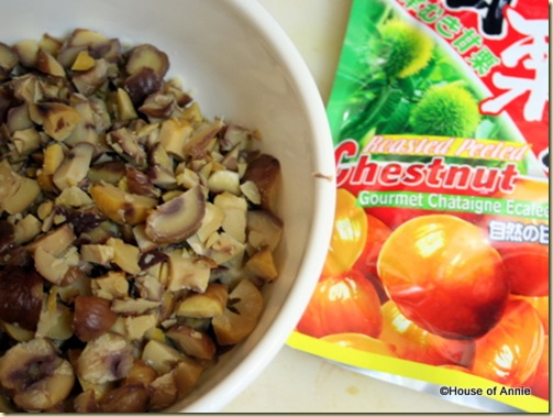 chestnuts for stuffing