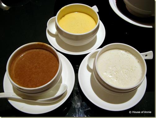 durian pudding walnut cream almond cream